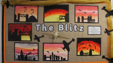 Blitz display
