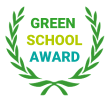 green school award logo